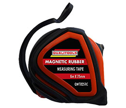 Measuring Tape Rubber Casing Magnetic 8m