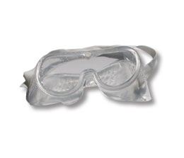 Clear Goggle with Strap